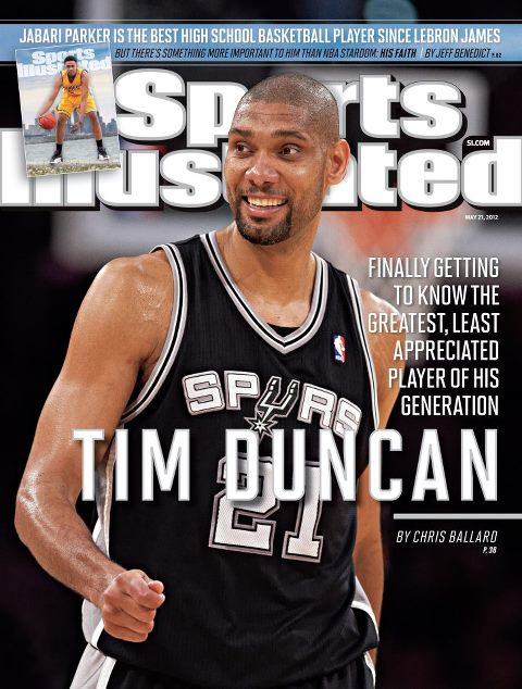 Tim Duncan SI Cover