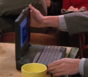 Chandler's Laptop