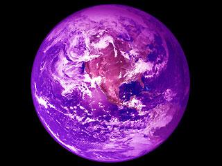 Purple Earth Theleftahead